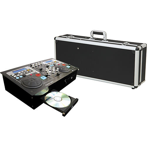 Gem Sound CDM150 CD Player & Mixer with FL150 Case Package-thumbnail