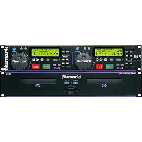 Numark CDN-22 Dual CD Player