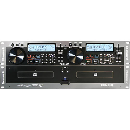 Numark CDN450 Rack Mount Professional Dual MP3/CD Player