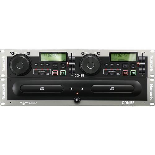Numark CDN55 Rack Mount Professional Dual CD Player-thumbnail