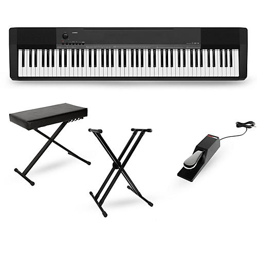 casio cdp 135 digital piano package essentials package musician 39 s friend. Black Bedroom Furniture Sets. Home Design Ideas