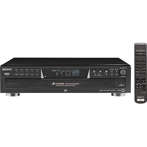 Sony CDP-CE375 5-Disc CD Changer