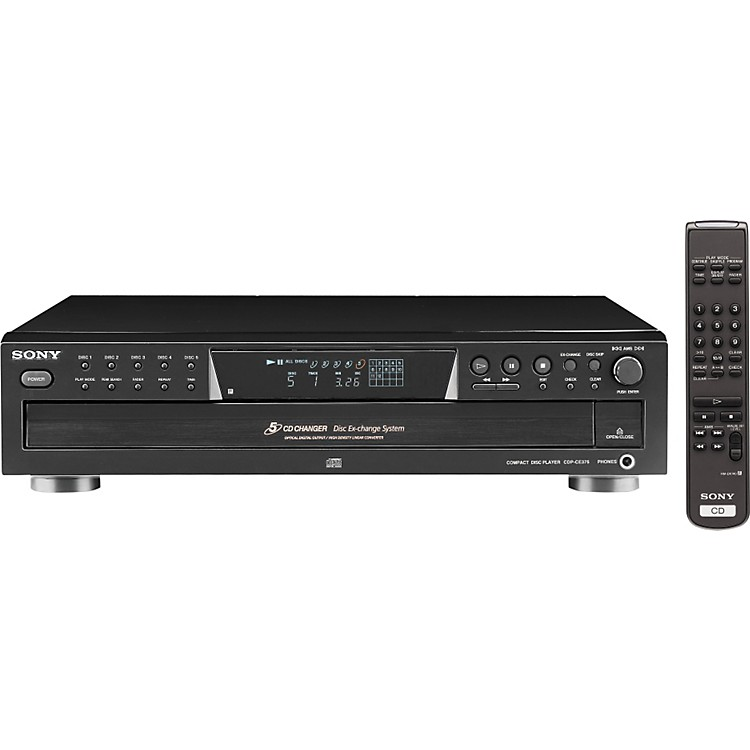 SonyCDP-CE375 5-Disc CD Changer