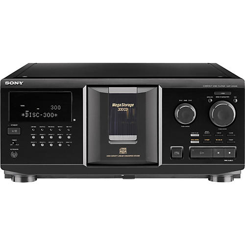 Sony CDP-CX355 300 Disc Megastorage CD Changer