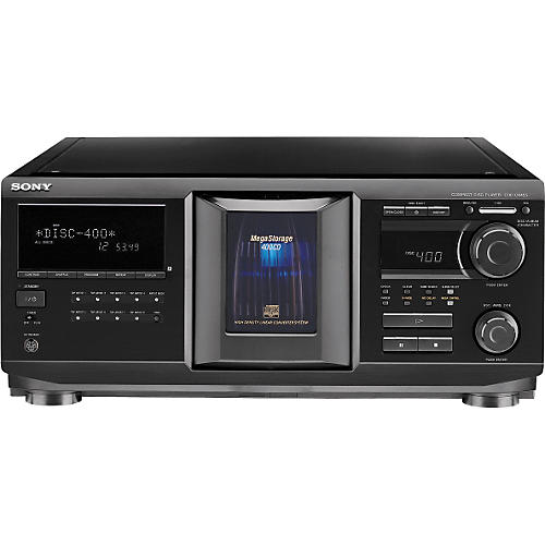 Sony CDP-CX455 400 Disc CD Changer