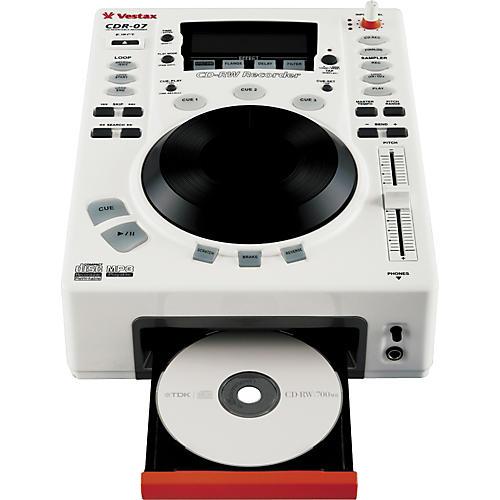 Vestax CDR-07 Tabletop CD Recorder / Scratch Player