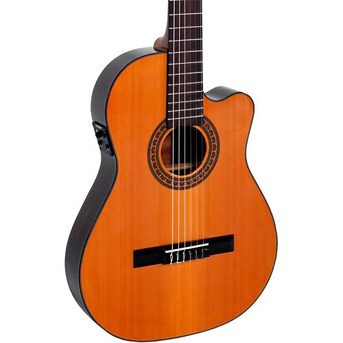 Giannini CDR Pro Thin CEQ Nylon String Acoustic-Electric Guitar