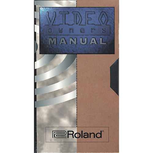 Roland CDX-1 DiscLab Video Owners Manual