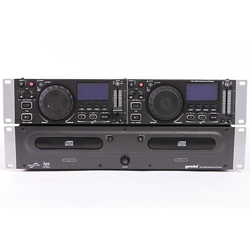 Gemini CDX-2400 Rackmount Dual CD Player-thumbnail