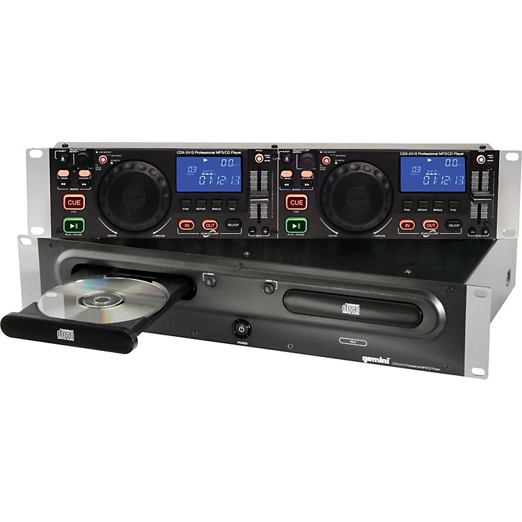 Gemini CDX-2410 2U Rackmount Dual MP3/CD Player