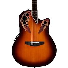 Ovation CE48 Celebrity Elite Acoustic-Electric Guitar Transparent Sunburst