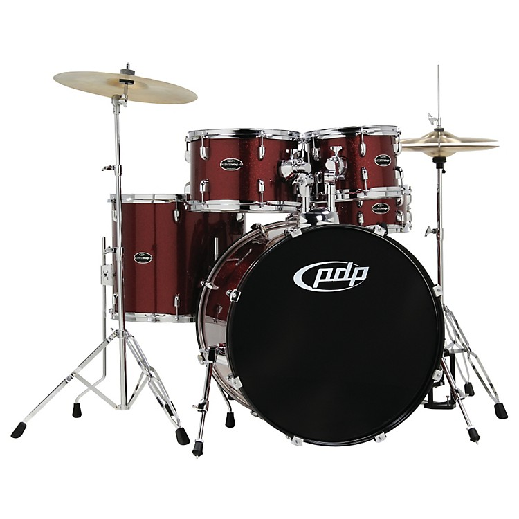 PDP CENTERstage 5-piece Drum Set with Hardware and Cymbals Sapphire