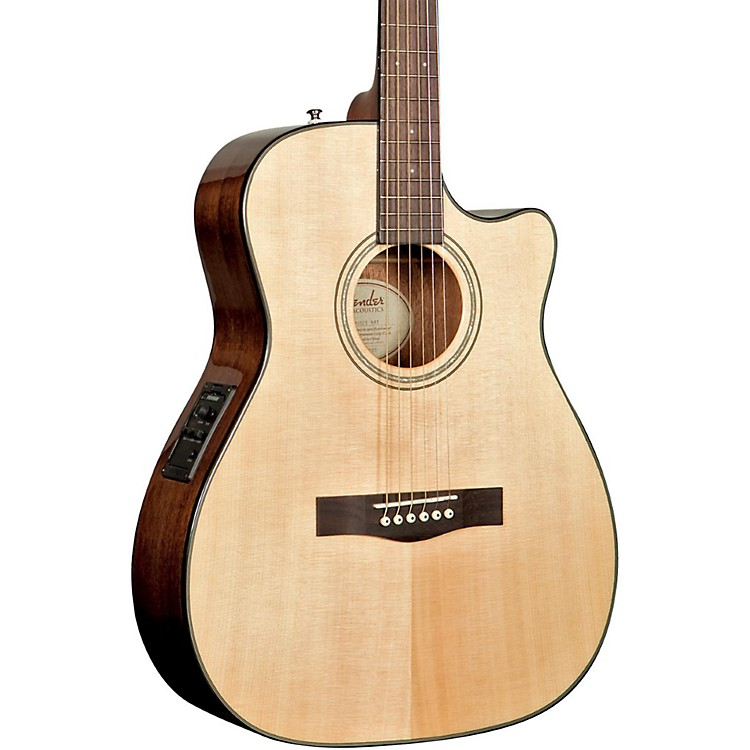 Fender CF-140SCE Folk Acoustic-Electric Guitar Natural