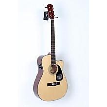 Fender CF-60CE Folk Acoustic-Electric Guitar Level 2 Black 190839022592