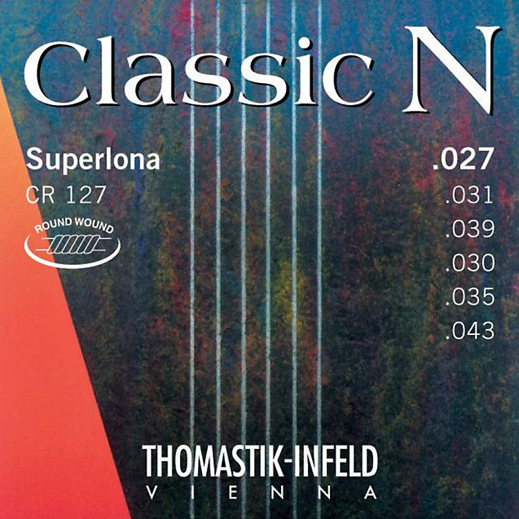 Thomastik CF127 N Series Nylon Guitar Strings - Normal Tension