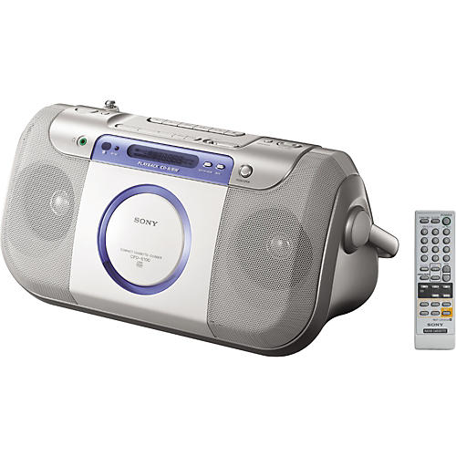 Sony CFD-E100 CD Radio Cassette Recorder