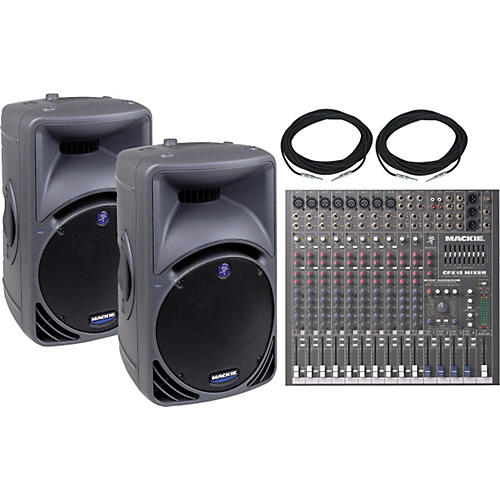 Mackie CFX-12 & SRM450 Pair Package Special-thumbnail