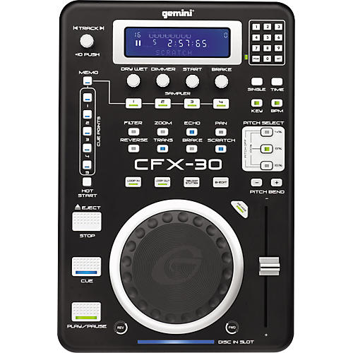Gemini CFX-30 Pro FX CD Player