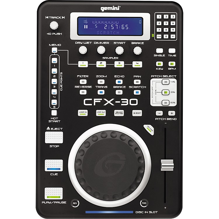 Gemini CFX-30 Pro FX CD Player