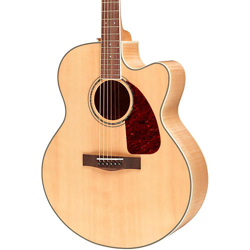 Fender CJ 290SCE Jumbo Cutaway Acoustic-Electric Guitar Natural