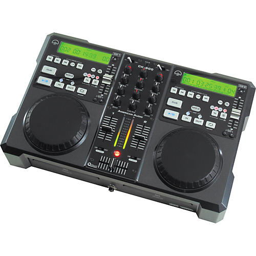 American Audio CK-800 Professional MP3/CD Player/Mixer