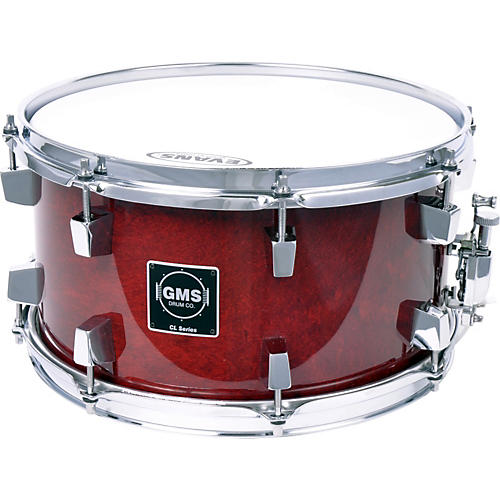 GMS CL Series Snare Drum 7 x 13 Cherry