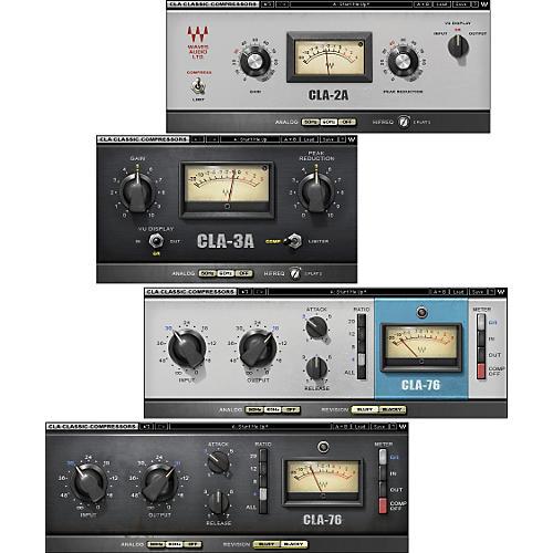 Waves CLA Classic Compressors TDM/SOUNDGRID License Software  Download