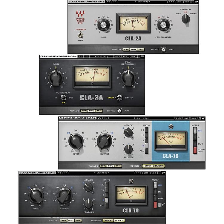 WavesCLA Classic Compressors TDM/SOUNDGRID LicenseSoftware  Download