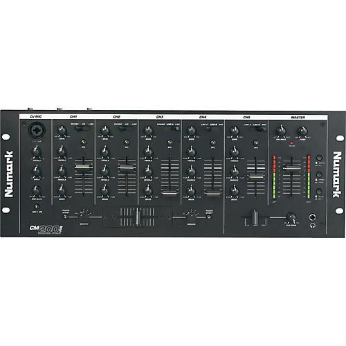 "Numark CM200USB 5-Channel 19"" Rackmount DJ Mixer with USB ..."