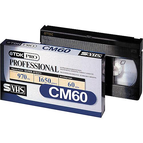 TDK CM60 S-VHS ADAT Tape
