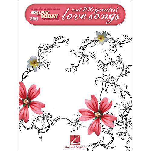Hal Leonard CMT'S 100 Greatest Country Love Songs E-Z Play 286