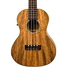 Lanikai CMTU-TEK TunaUke Curly Mango Tenor Acoustic-Electric Ukulele