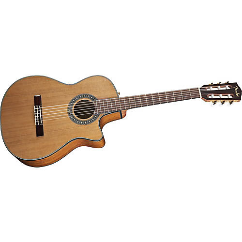 Fender CN-240SCE Acoustic-Electric Classical Guitar-thumbnail