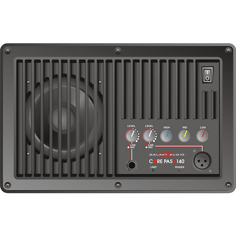 Galaxy AudioCORE PA 5X140 Powered 5