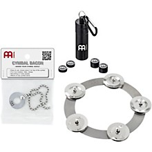 Meinl CP2 Cymbal Accessory Pack with Ching Ring, Magnetic Cymbal Tuners and FREE Bacon Sizzler