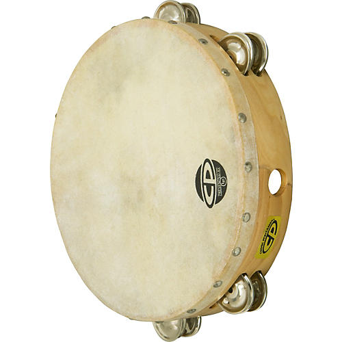 CP CP380 Tambourine Double Row 10 Inches