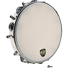 "CP CP392 10"" Tunable Metal Tambourine Level 1 10 in."