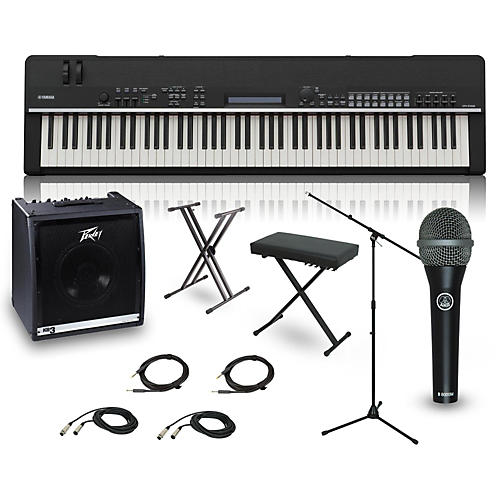 Yamaha cp4 stage 88 key complete stage piano package for Yamaha cp4 stage 88 key stage piano