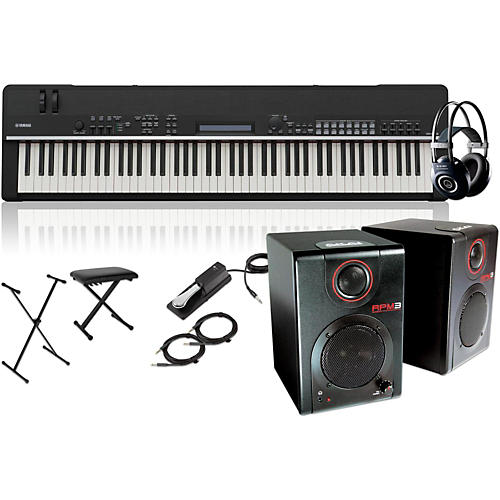 Yamaha cp4 stage 88 key stage piano with rpm3 monitors for Yamaha cp4 stage 88 key stage piano