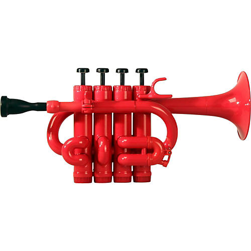 Cool Wind CPT-200 Series Plastic Bb/A Piccolo Trumpet Red