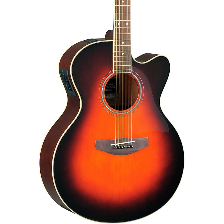 Yamaha CPX500II Medium-Jumbo Cutaway Acoustic-Electric Guitar