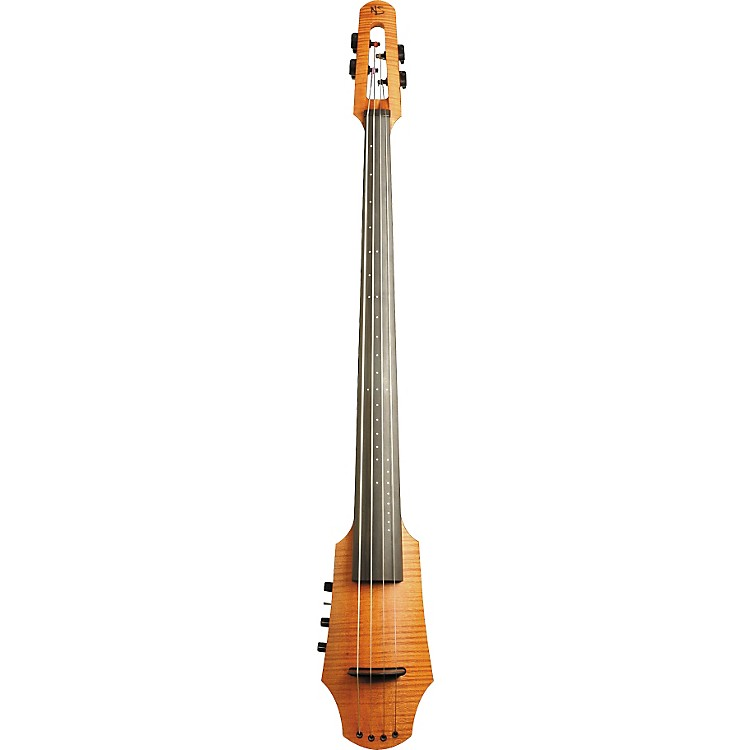 NS Design CR4 4-String Electric Cello Amber Stain