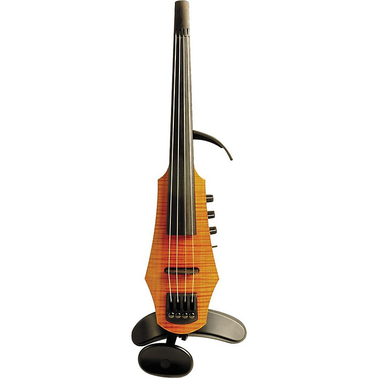 NS Design CR4 4-String Electric Violin Amber Stain