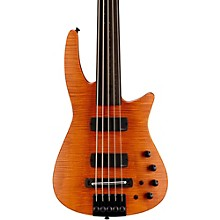 CR5 RADIUS Fretless Bass Guitar Satin Amber
