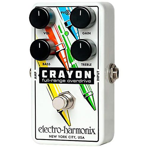 Electro-Harmonix CRAYON Full Range Overdrive - 76-thumbnail