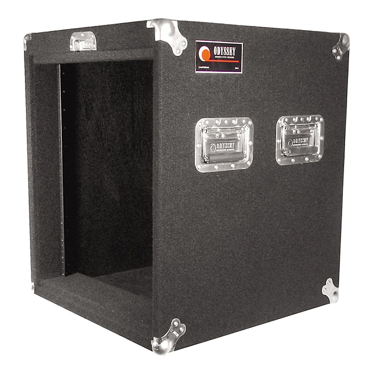 OdysseyCRP08W Carpeted Pro Rack with Wheels10 Space