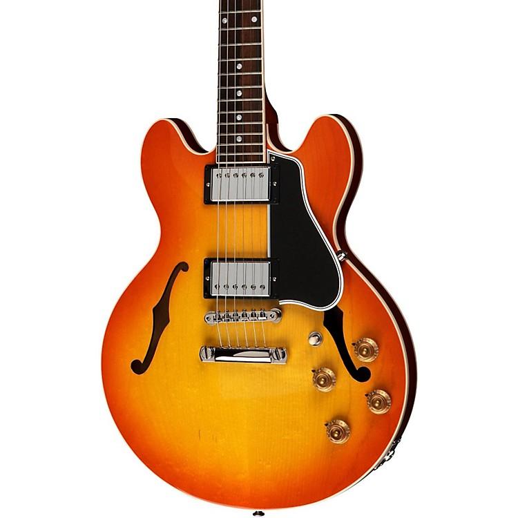 Gibson CustomCS-336 Plain Top Electric GuitarTangerine Burst