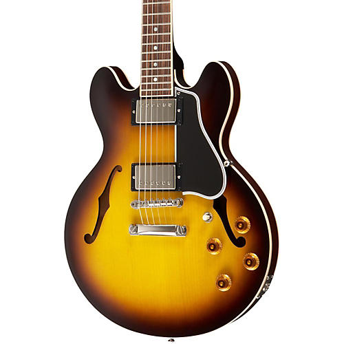 Gibson Custom CS-336 Plain Top Electric Guitar Vintage Sunburst