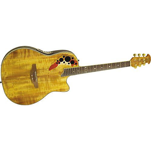 Ovation CS347FKOA Celebrity Deluxe Acoustic-Electric Guitar-thumbnail