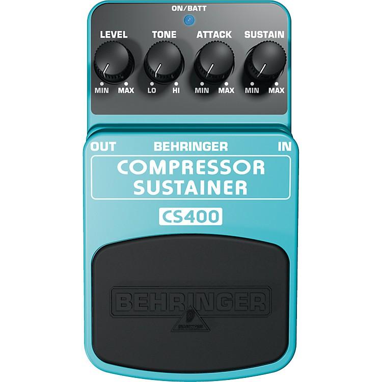 BehringerCS400 Compressor/Sustainer Guitar Effects Pedal